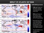 impact of atlantic sst bias