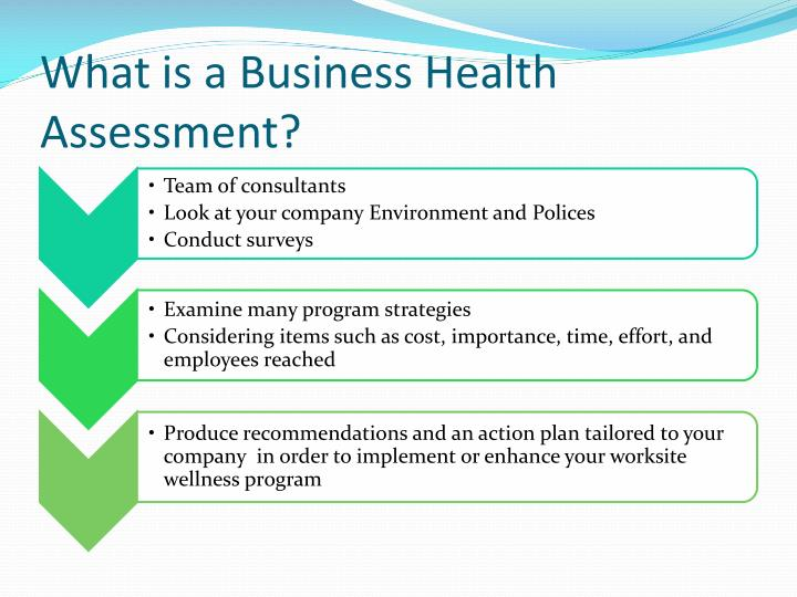 What is a Business Health Assessment?