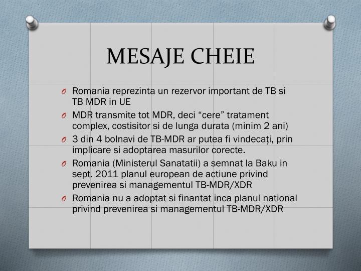 MESAJE CHEIE