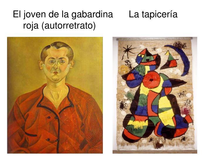 El joven de la gabardina      La tapicería