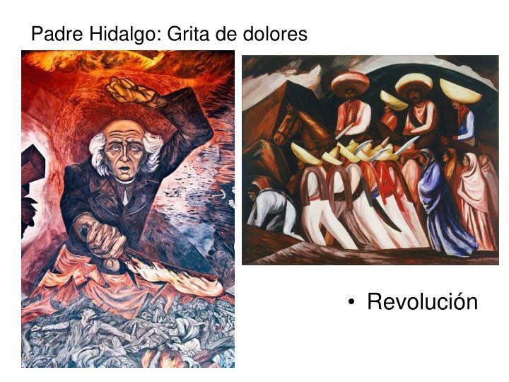 Padre Hidalgo: Grita de dolores