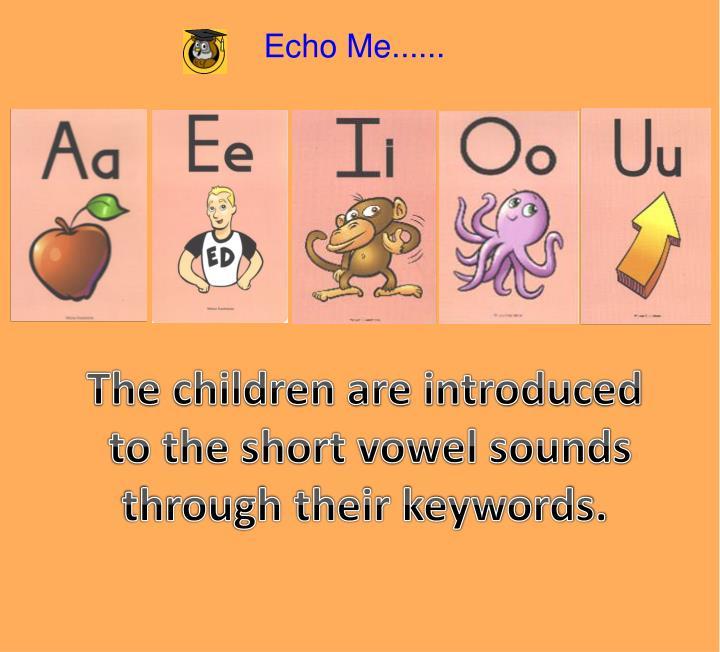 Echo Me......