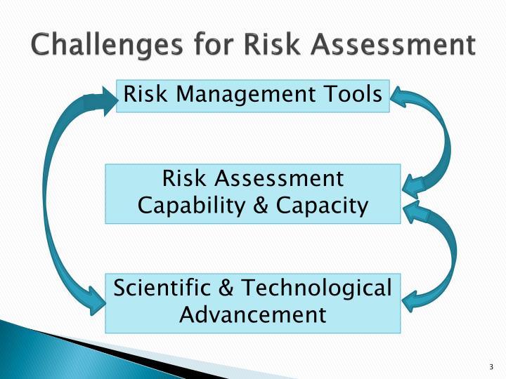Challenges for Risk Assessment