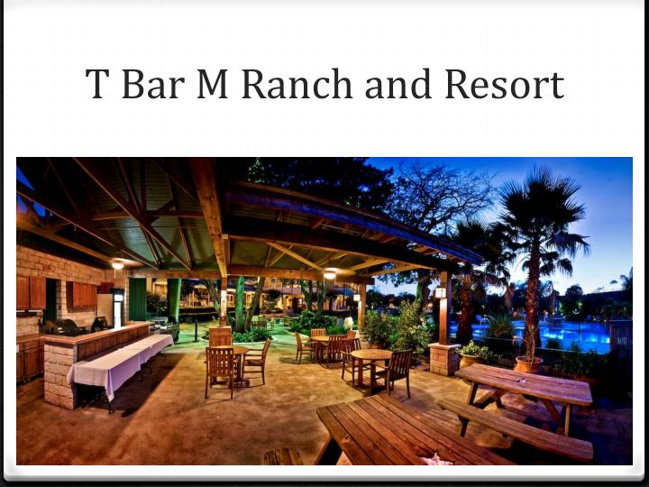 T Bar M Ranch and Resort