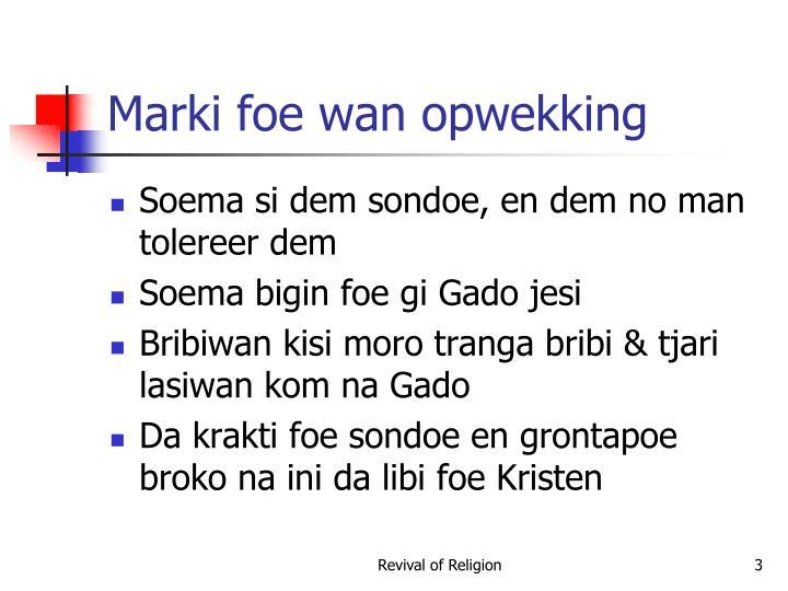 Marki