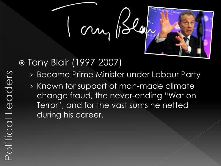 Tony Blair (1997-2007)