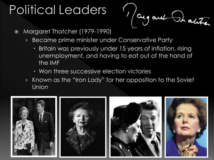 Margaret Thatcher (1979-1990)