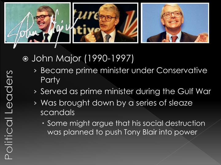 John Major (1990-1997)