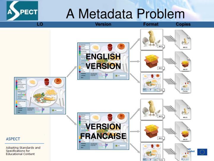 A Metadata Problem