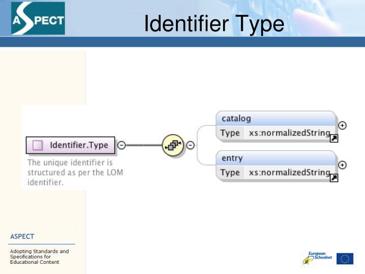 Identifier Type