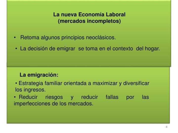 La nueva Economía Laboral