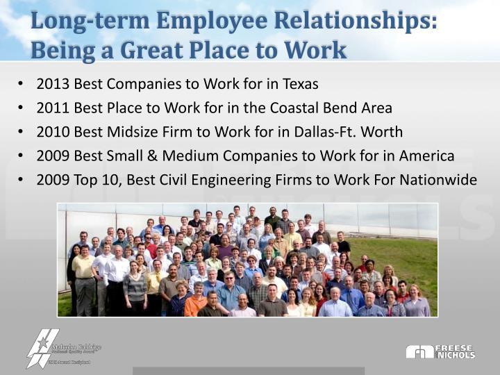 Long-term Employee Relationships: