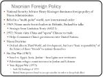 nixonian foreign policy