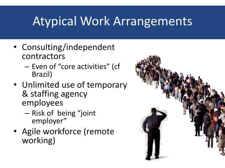 Atypical Work Arrangements
