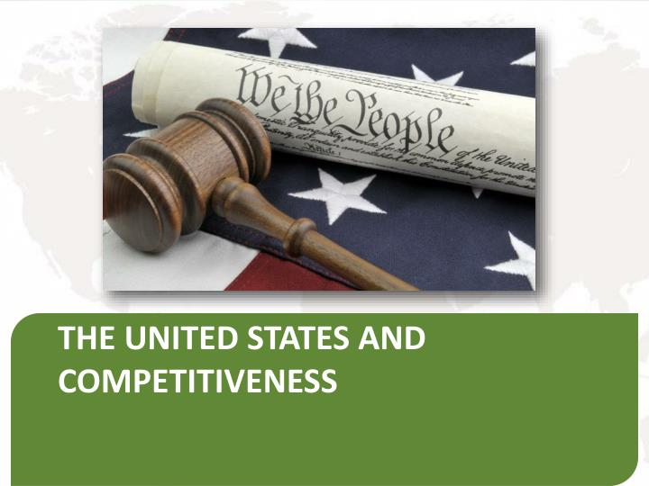 The united states and competitiveness