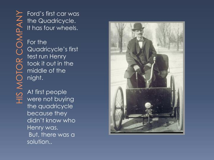 His Motor Company