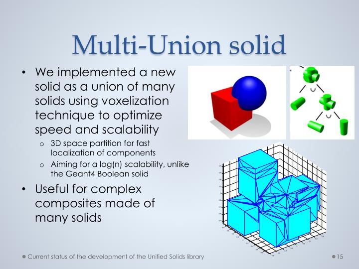 Multi-Union