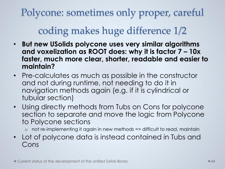 Polycone