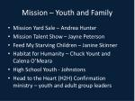 mission youth and family