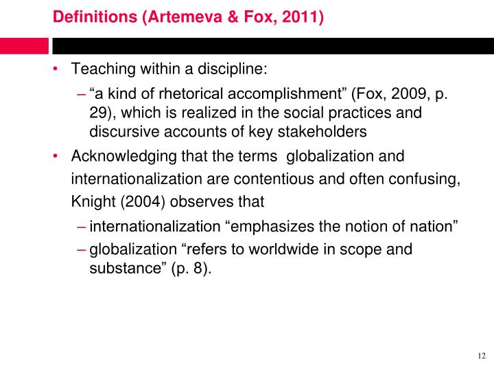 Definitions (