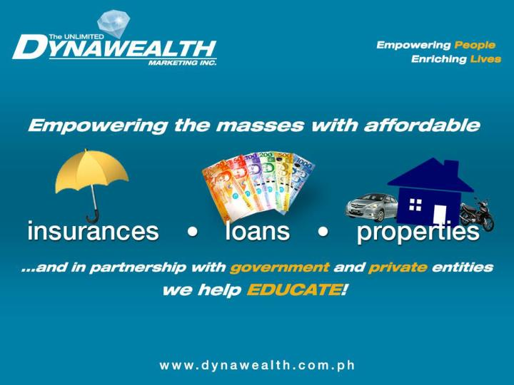 The unlimited dynawealth marketing inc