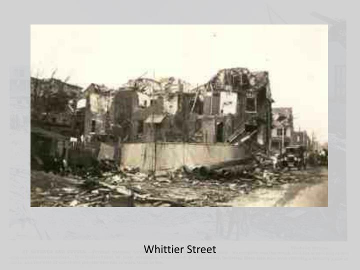 Whittier Street