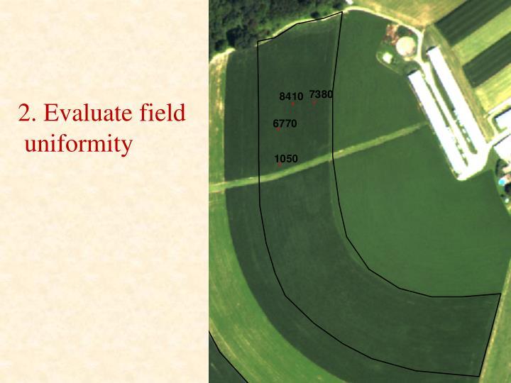 2. Evaluate field