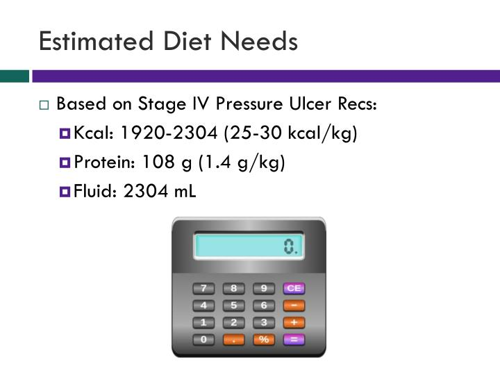 Estimated Diet Needs