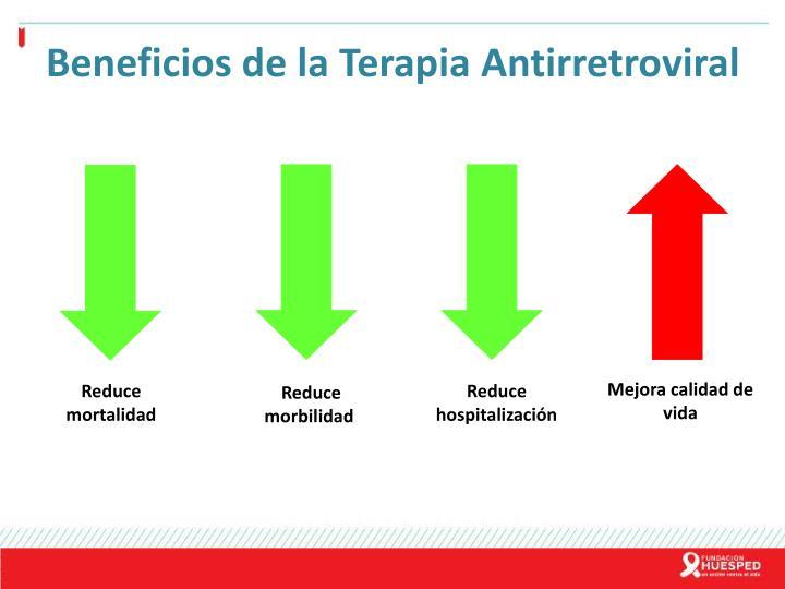 Beneficios de la Terapia Antirretroviral