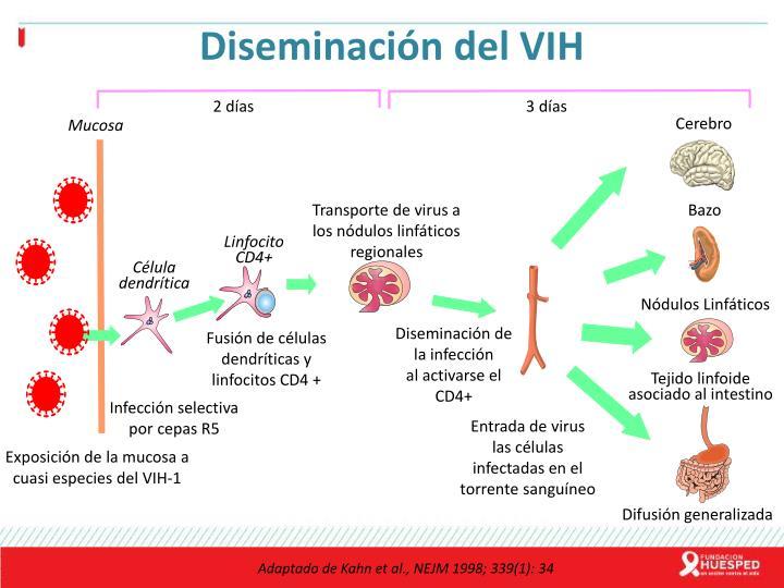 Diseminación del VIH