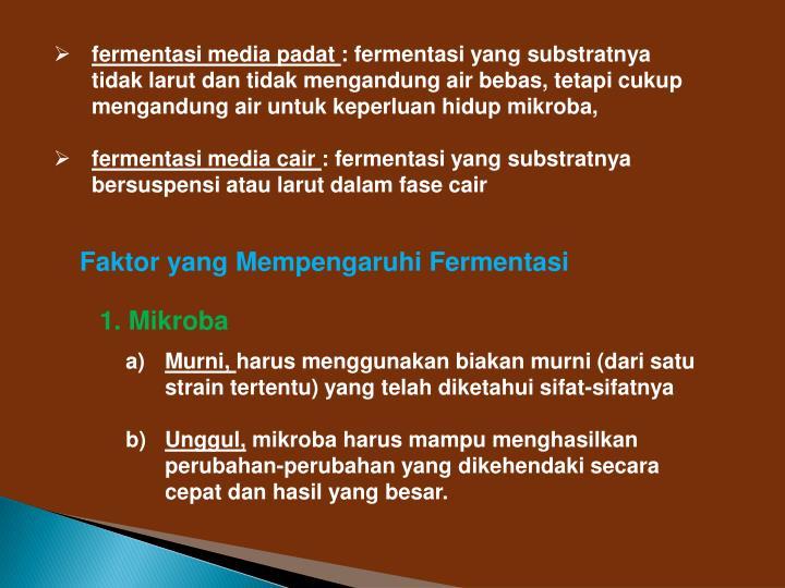 fermentasi media padat