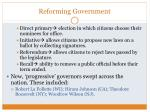 reforming government1