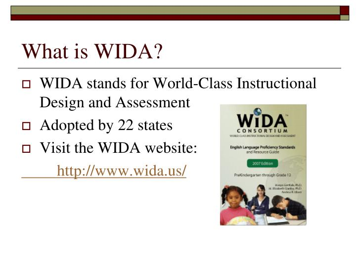 What is wida1