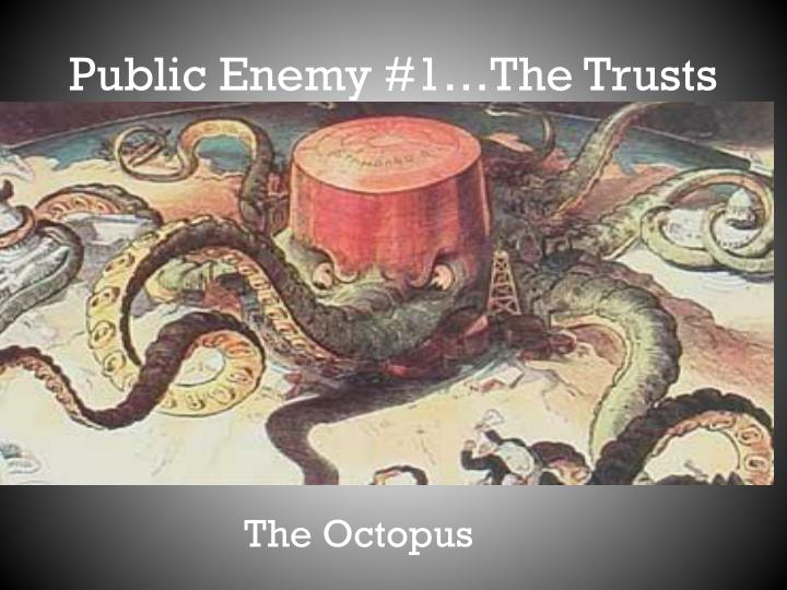 Public Enemy #1…The Trusts
