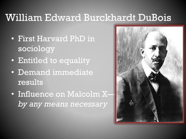 William Edward Burckhardt DuBois