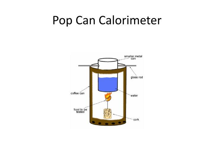 Pop Can Calorimeter