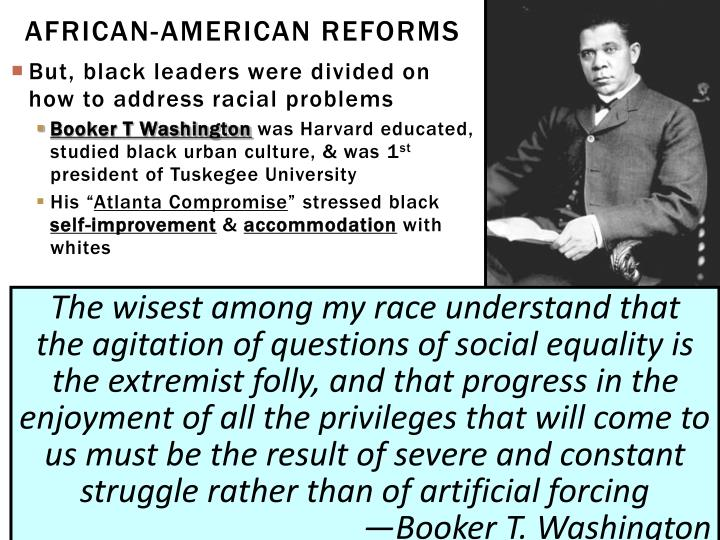 African-American Reforms