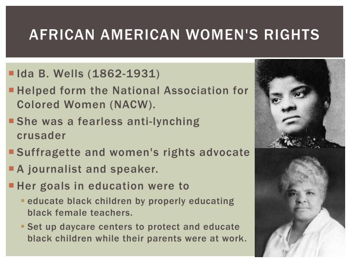 African American Women's Rights