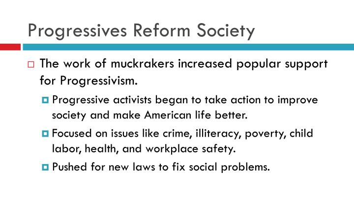 Progressives Reform Society