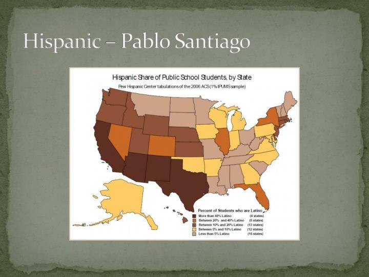 Hispanic – Pablo