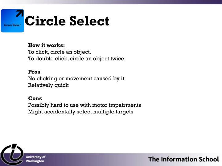Circle Select