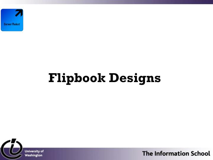 Flipbook Designs