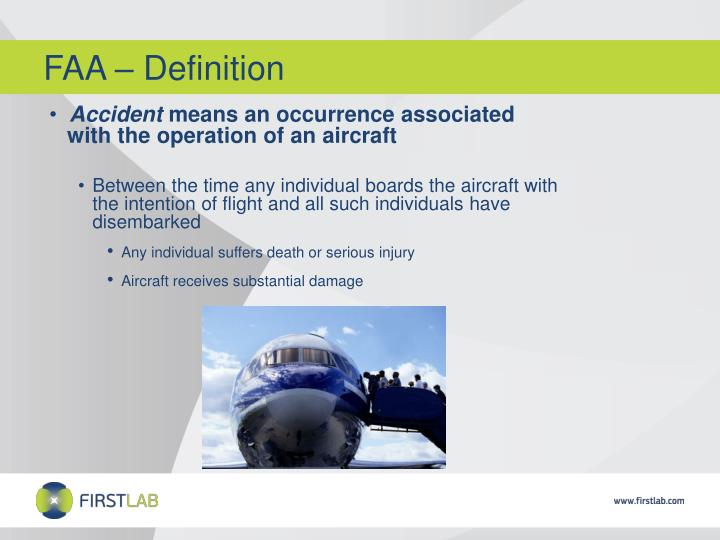 FAA – Definition