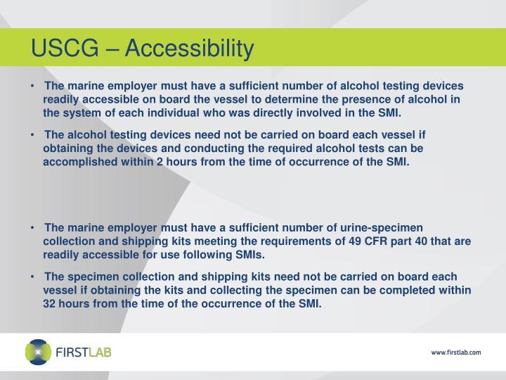 USCG – Accessibility