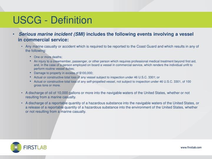 USCG - Definition