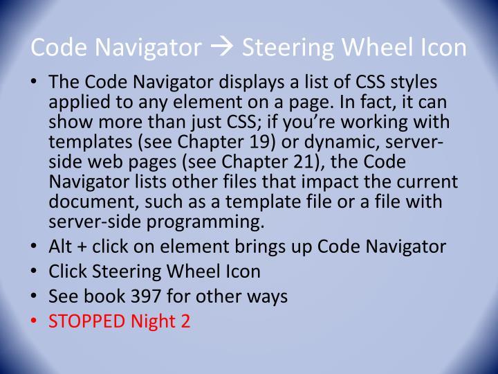 Code Navigator
