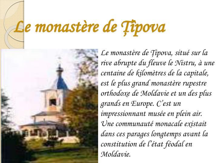 Le monastère de