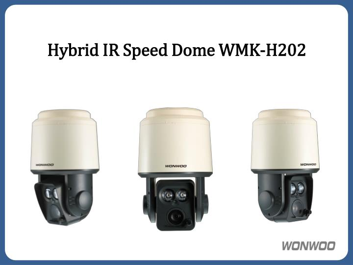 Hybrid ir speed dome wmk h202