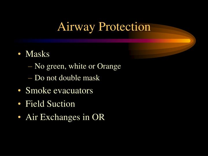 Airway Protection