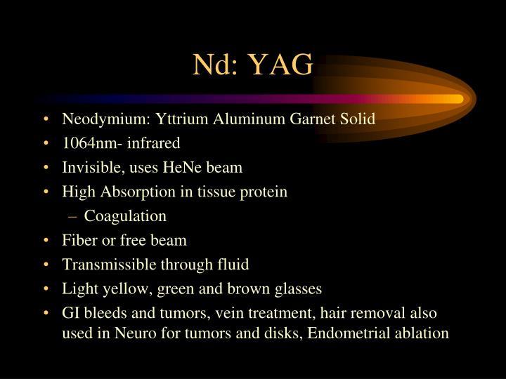 Nd: YAG